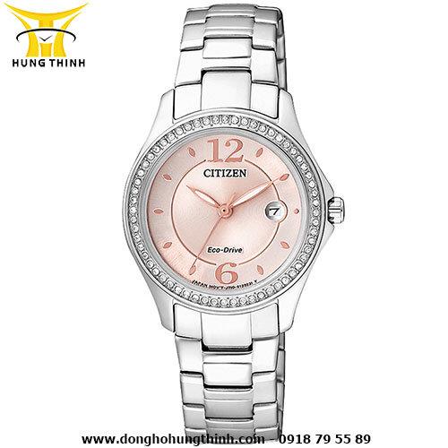 Đồng hồ nữ dây kim loại Citizen FE1140