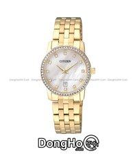 Đồng hồ nữ dây kim loại Citizen EU6032