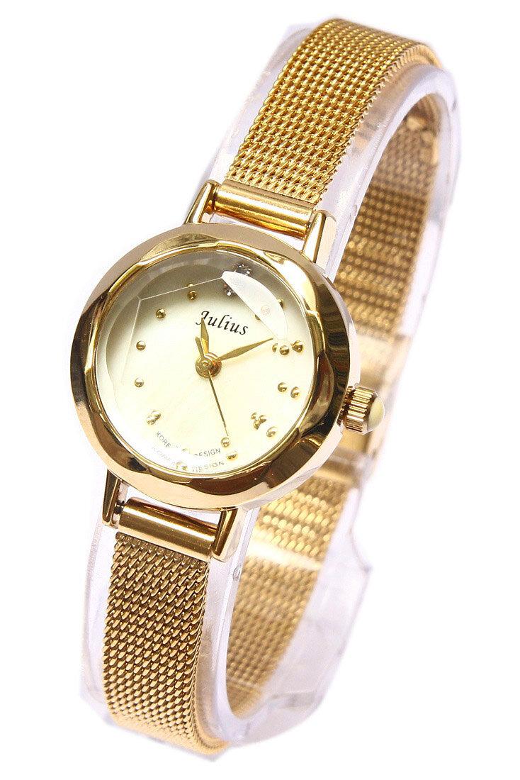 Đồng hồ nữ dây thép Julius JA-482