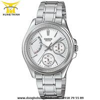 Đồng hồ nữ dây thép không gỉ Casio LTP-2089D