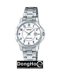 Đồng hồ nữ dây thép không gỉ Casio LTP-V004D - màu 1B, 7B