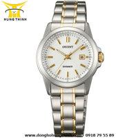 Đồng hồ nữ dây thép không gỉ Citizen Quartz EQ0593