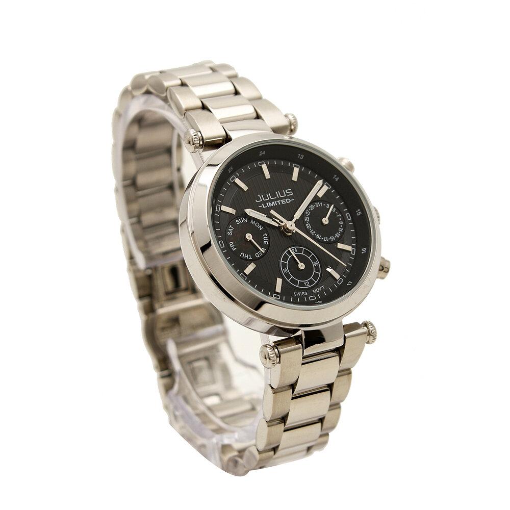 Đồng hồ nữ dây thép không gỉ JULIUS 998