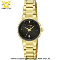 Đồng hồ nữ dây thép không gỉ Citizen EU6012-58E