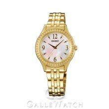 Đồng hồ nữ dây thép không gỉ Orient Quartz FQC10003W0
