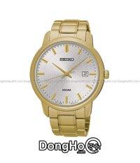 Đồng hồ nữ dây thép không gỉ Seiko SUR191P1