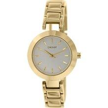 Đồng hồ nữ dây thép không gỉ DKNY Quartz NY2253
