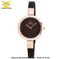Đồng hồ nữ dây thép không gỉ OBAKU V129LXVNMN1