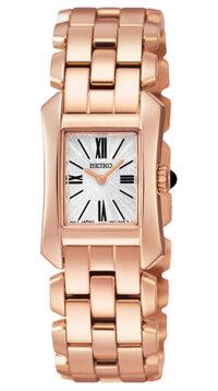 Đồng hồ nữ dây thép không gỉ Seiko Quartz SUJG74P1