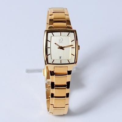 Đồng hồ nữ dây thép không gỉ Le chateau Quartz L24.252.04.5.1