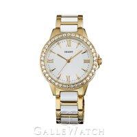 Đồng hồ nữ dây thép không gỉ Orient Quartz FQC11002W0