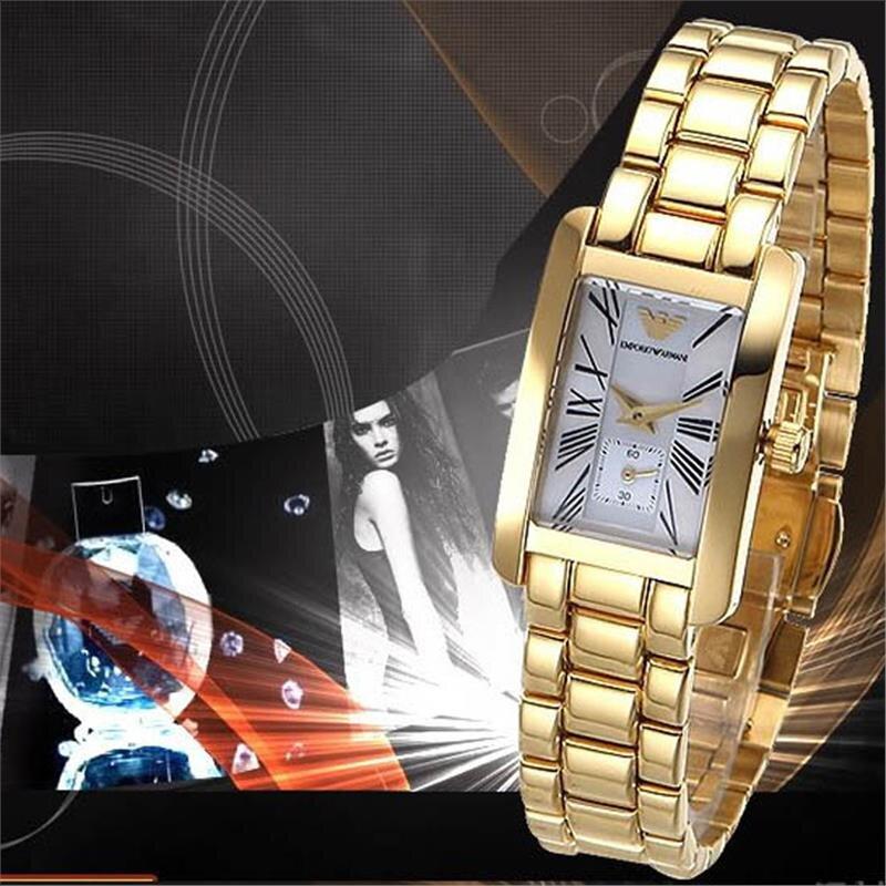 Đồng hồ nữ Emporio Armani AR0146FG - mạ vàng 18K