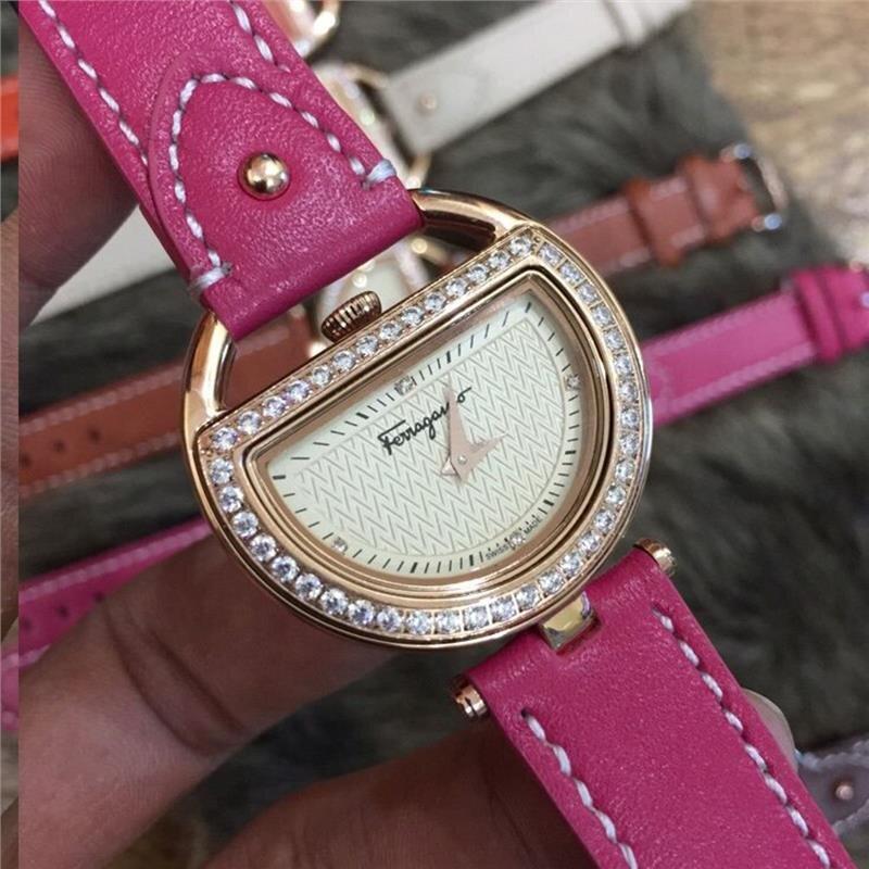 Đồng hồ nữ Ferragamo Diamond FRG106