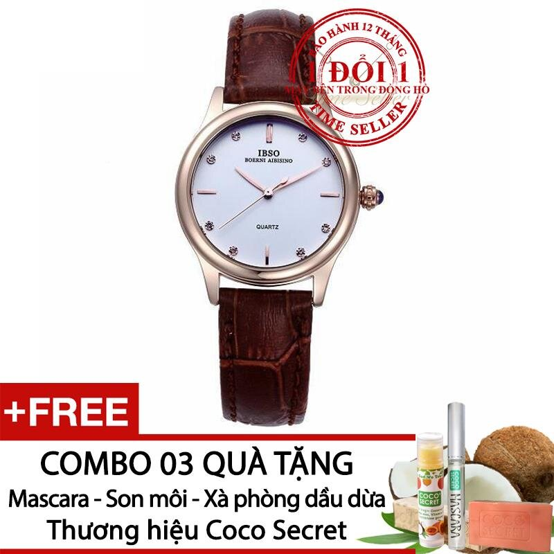 Đồng hồ nữ IBSO 3816 - dây da