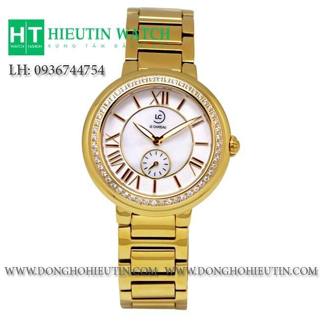 Đồng hồ nữ Le Chateau Quartz L47.674.34.5.1
