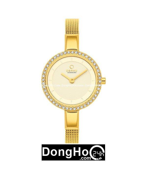 Đồng hồ nữ Obaku-V129LGGMG3