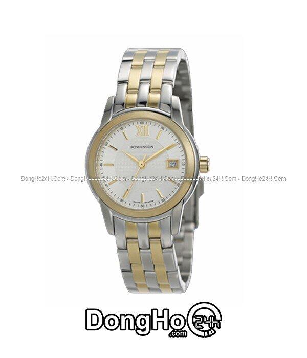 Đồng hồ nữ Romanson Quartz TM2649LCWH