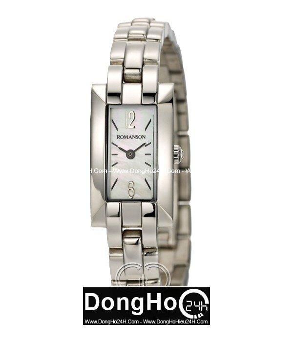 Đồng hồ nữ Romanson RM8274LWWH (RM8274LWBK)