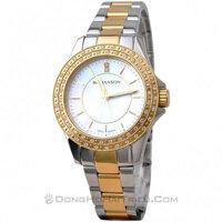 Đồng hồ nữ Romanson RM1209QLCWH - dây thép không gỉ