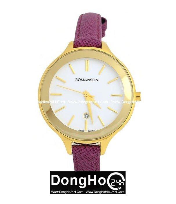 Đồng hồ nữ Romanson RL4208LGWH