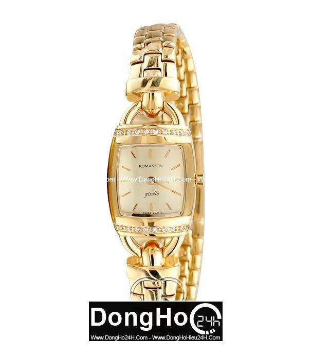 Đồng hồ nữ Romanson RM9237QLGGD
