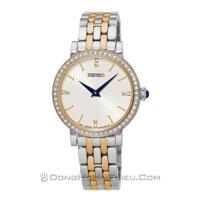 Đồng hồ nữ Seiko SFQ810P1 - dây thép không gỉ