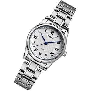 Đồng hồ nữ Sinobi 9403 - dây thép không gỉ