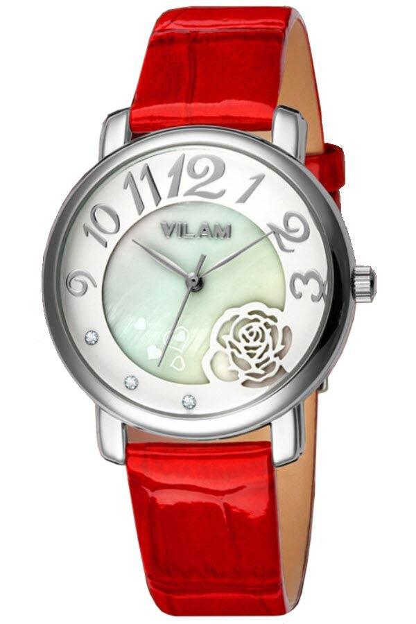 Đồng hồ nữ Vilam V1008L - dây da