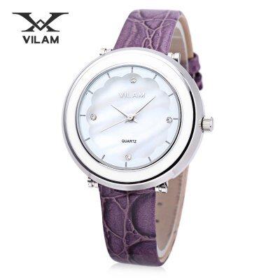 Đồng hồ nữ Vilam V1010L-01E - dây da