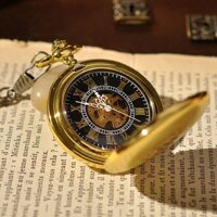 Đồng hồ quả quýt mạ vàng cổ điển