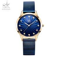 Đồng hồ quartz nữ Shengke Korea K0081L-02