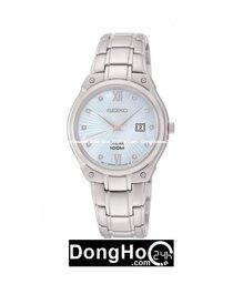 Đồng hồ Seiko nữ Solar Diamond SUT213P1