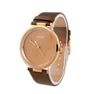 Đồng hồ Sinobi nam dây da caro SI012