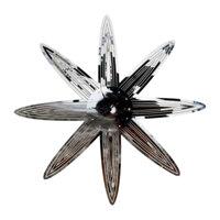 Đồng hồ Táo Decor hoa 8 cánh