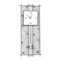 Đồng hồ Táo Decor trụ hoa văn 3494