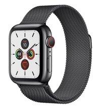 Đồng hồ thông minh Apple Watch S5 (Series 5) - 40mm, viền thép dây thép