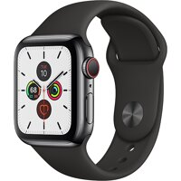 Đồng hồ thông minh Apple Watch Series 5 LTE  - 40mm, viền thép dây cao su