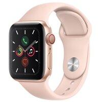 Đồng hồ thông minh Apple Watch S5 LTE (Series 5 LTE) - 44mm, viền nhôm dây cao su