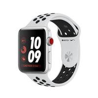 Đồng hồ thông minh Apple Watch Series 3 Nike+ - 38mm, GPS + Cellular, viền nhôm dây cao su