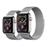 Đồng hồ thông minh Apple Watch Series 4 - 44mm, GPS+Cellular, Viền thép, dây thép