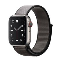 Đồng hồ thông minh Apple Watch S5 (Series 5) LTE 40mm Titanium Case with Sport Loop