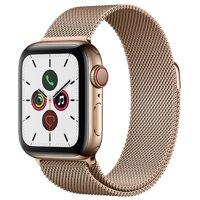 Đồng hồ thông minh Apple Watch S5 LTE (Series 5 LTE)  - 44mm, viền thép dây thép