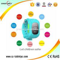 Đồng hồ thông minh định vị GPS Q50 (Xanh dương)