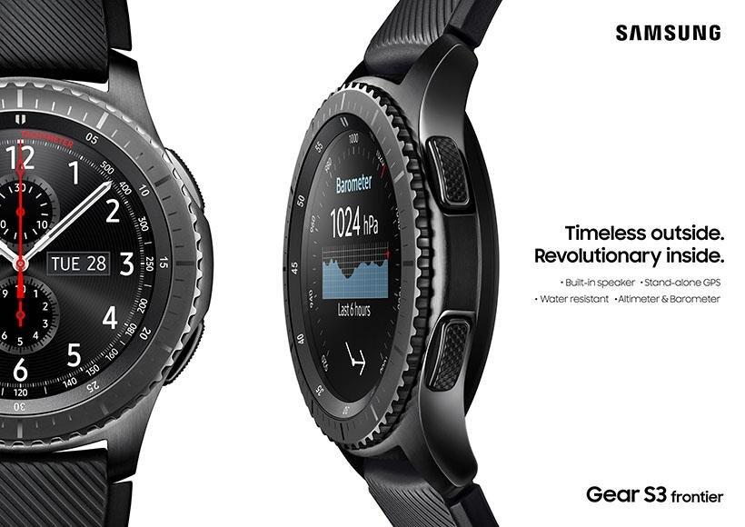 Đồng hồ thông minh Samsung gear S3 Frontier SM-R760