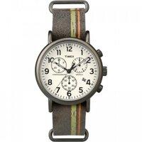 Đồng hồ Timex nam dây da TW2P78000