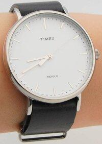 Đồng hồ Timex TW2P91300 dây da bò