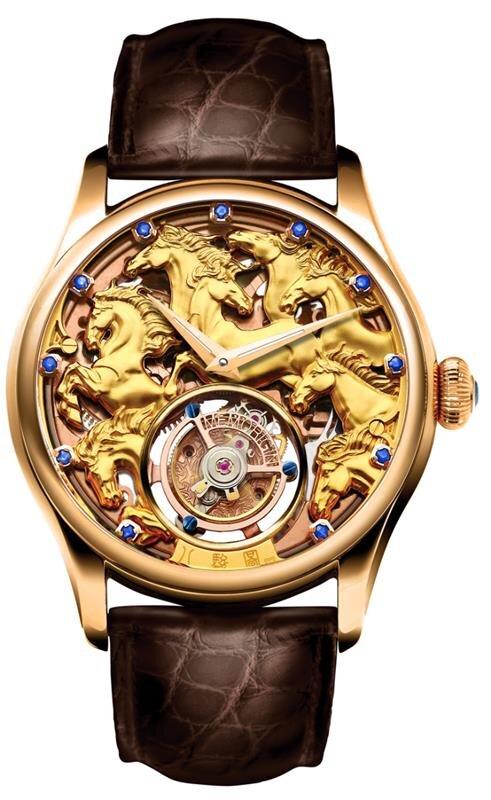 Đồng hồ Tourbillon Memorigin (Phiên bản ngựa)