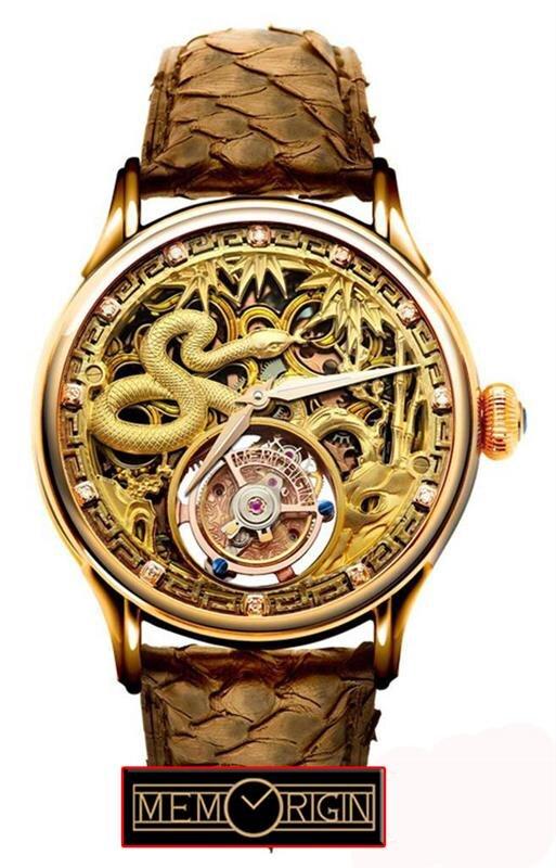 Đồng hồ Tourbillon Memorigin (Phiên bản Rắn)