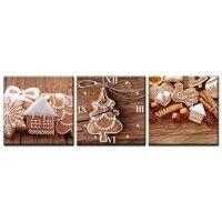 Đồng hồ tranh Bánh qui ngọt ngào Vicdecor DHT0063