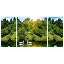 Đồng hồ tranh Cảnh đẹp thiên nhiên DHT0212